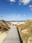 Meer Düne Bohlenweg